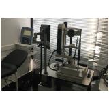 exame de biometria ocular